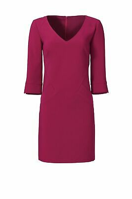 f523ae52de4 Trina Turk Purple Front-Pocketed Women s Size 4 V-Neck Shift Dress  328-