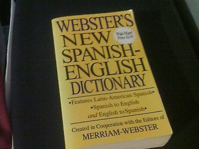 Webster's New Spanish-English Dictionary Paperback