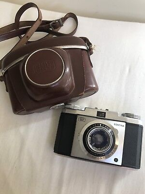 Working Zeiss Ikon Contina Antique Vintage Camera