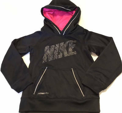 NWT NIKE GIRLS 7-16 Therma Training Zip-Up Hoodie Choose Size ... e7787f68f
