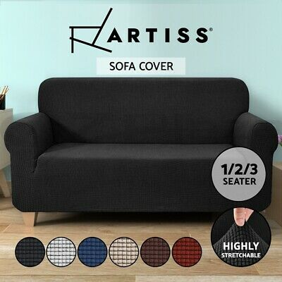 Artiss High Stretch Sofa Cover Couch Lounge Protector Slipcovers 1/2/3 Seater