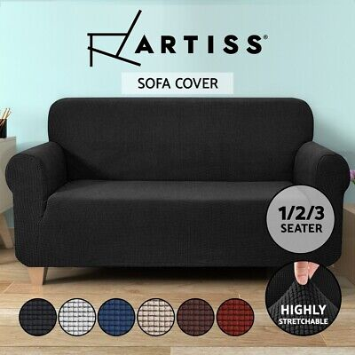 Artiss Sofa Cover 1 2 3 Seater Couch Covers Recliner Lounge Protector Slipcovers