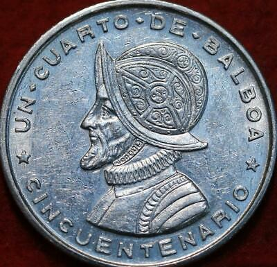 Central America 1970 Panama 5 Balboas Silver Proof 1oz Central American & Caribbean Games