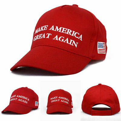 President Donald Trump Make America Great Again Red Hat MAGA US Republican Cap