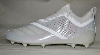 3f2d8701b53 Adidas AdiZero 5-Star 7.0 White Low Top Football Cleats CQ0316 Men s Size 13