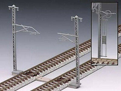 Tomix 3077 Overhead Wire Mast for Single Tracks (24 pcs) (N scale)