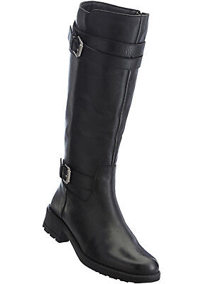 812bc4a5c34 HOHE LEDER STIEFEL Schwarz Lack Rot Plateau Italy Bd4 Boots Leather ...