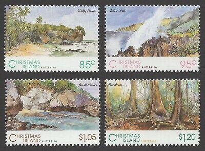 1993 Scenic Views of Christmas Island (MUH) - Set of 4 stamps