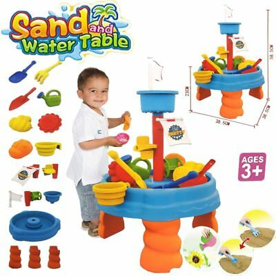 Sand & Water Table Watering Can & Spade Kids Outdoor Garden Sandpit Toy Set 316