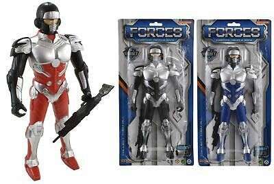 """1x 11"""" Space Super Hero Action Figure Fighter Robot Kids Boys Gift Toy"""