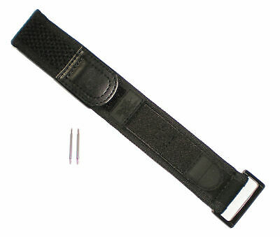 Luminox BLACK OUT WIDE Watch Band Nylon Navy Seals 22/23 mm 3000 3900 3050 3080