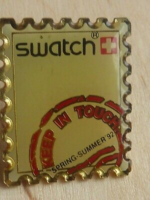 Pin's Pin Badge Mode Montre Swatch Suisse