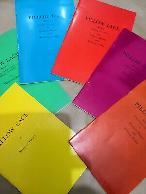 PILLOW LACE by Hamer & Waller – set of 6 booklets