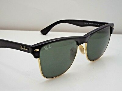 30ac4cf34b Authentic Ray-Ban RB 4175 877 Black Gold Green Classic G-15 Sunglasses  190