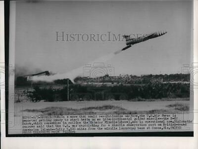 1954 Press Photo US Air Force to start test s on intercontinental guided-missile