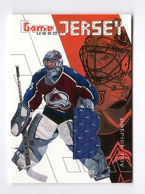 Patrick Roy Nhl 2001-02 Between The Pipes Jerseys (Colorado Avalanche,canadiens)