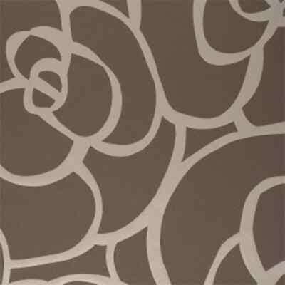 DUTCH WALLCOVERINGS PAPIER Peint Rose Marron Revêtement Mural Décor ...