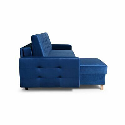 Vegas Futon Sectional Sofa Bed Queen Sleeper With Storage