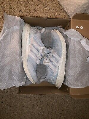 34b0c126f1346 ADIDAS PARLEY ULTRABOOST 3.0 White Coral Blue CP9685 Size 10 ...