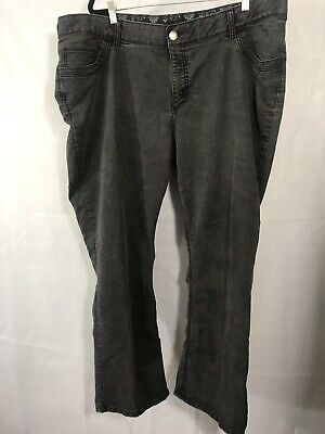 b74e706a9db Riders by Lee Womens Size 26W Black Stretch Comfort No Gap Waistband Jeans