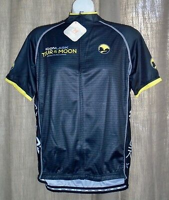 ShaverSport Icon Lasik Tour of the Moon Men s XL NWT! Full-Zip Cycling  Jersey ec9512292
