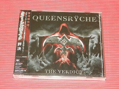 2019 Queensryche The Verdict Japan Standard One Cd Edition