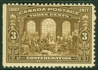 EDW1949SELL : CANADA Scott #135 Very Fresh, Mint Never Hinged. Catalog $120.00.