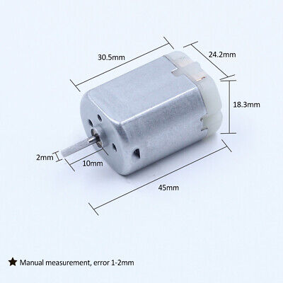 10MM FLAT SHAFT D Spindle FC-280PC-22125 Car Door Lock Motor