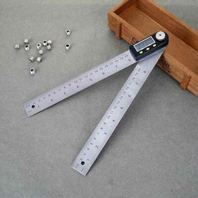 Digital Angle Finder Stainless Steel Ruler 200mm Measurement Inclinometer Ruler