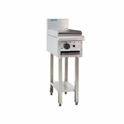 LUUS Essentials 300mm Gas Griddle Hot Plate Flat Top BBQ Grill BCH-3P NG