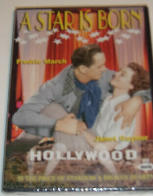 A Star Is Born - Janet Gaynor/Fredric March 1934 Movie New DVD! Nice SEE!