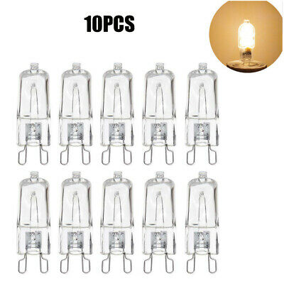 10X G9 Light Bulb Lamps 25W 40W 60W Dimmable Capsule Replace Halogen Lamp 240V