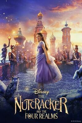 NEW Nutcracker and The Four Realms Blu-Ray + DVD Walt Disney Pictures - 2019