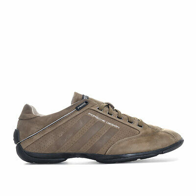 Mens adidas Porsche Design Sport Drive Pilot Shoes In Khaki- Sleek And