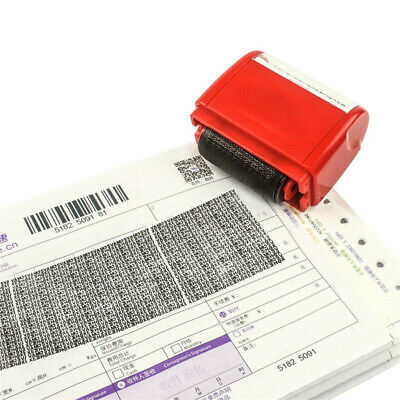 Identity Theft Protection Roller Stamp Guard Your ID Privacy Confidential Saftey