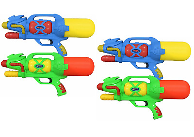 """4 x Giant 18"""" 46cm Super Pump Action Water Guns Fight Cannons Soaker Toys 086"""