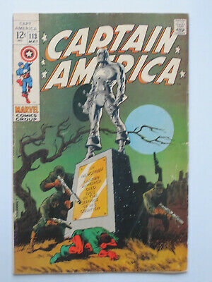 CAPTAIN AMERICA # 105-175 + KSA US MARVEL 1968-1974  Jack Kirby  Jim Steranko +