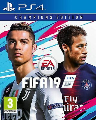 FIFA 19 Champions Edition PS4 Brand New Sealed Official Game PEGI 3