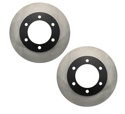 12.54 Detroit Axle Premium FRONT Brake Rotors for 16 Wheel 4Runner and 2004 Tacoma w//Vehicle Stability Control VSC 318.5mm