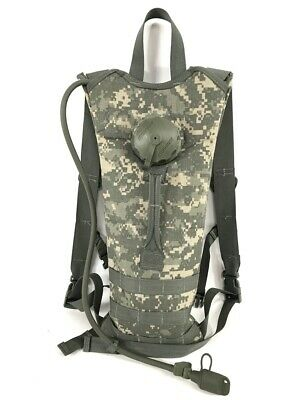 26d7957f6293 MILITARY MOLLE ACU 100 oz 3 Liter Hydration Water Carrier Backpack ...