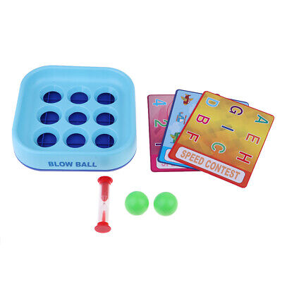 Blow Ball Education Board Game Parents with Children Family Funny Game Gifts