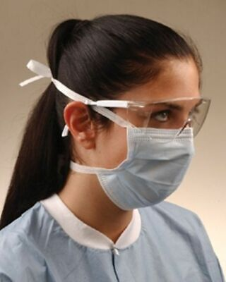 3M Mask Surgical Tie-on 50 Count Surgical Mask Vet Supply Hypoallergenic