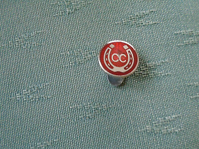 A Vintage Caravan Club Pinches London Enamel And Chrome Car Badge With Bracket Vehicle Parts & Accessories Automobilia