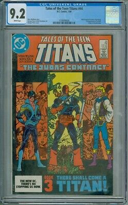 Tales Of The Teen Titans #44 - CGC Graded 9.2 - 1st Appearance Of Nightwing