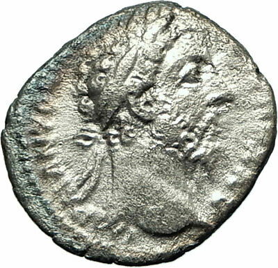 COMMODUS  177AD Rome Silver Ancient Roman Coin Zeus Possibly Unpublished  i76123