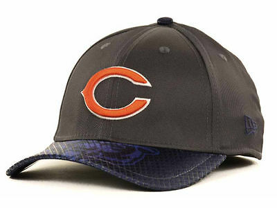 Chicago Bears New Era NFL 39Thirty flex fit hat cap lid size S M graphics 4ee27d618