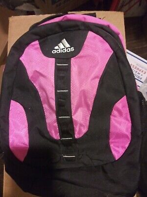 f3588d46e138 ADIDAS Backpack Bookpack Pink White Black Load Spring Technology Compatible