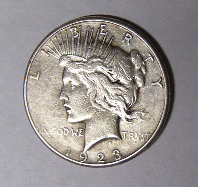 1923-S Peace Silver Dollar Circulated San Francisco Mint