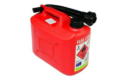 AgBoss 5L Red Jerry Can - Squat Style (FJC5)