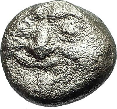 PARION in MYSIA Archaic Ancient 550BC Silver Greek Coin w GORGONEION Rare i76084